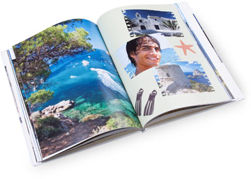 Themed Photo Book - holiday style