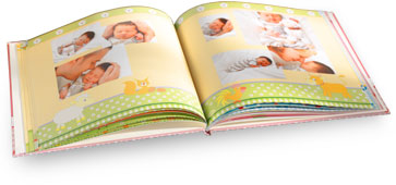 Themed Photo Book - baby style