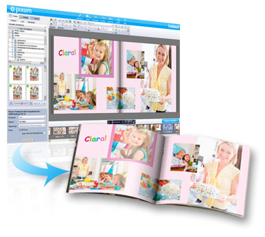 Pixum Fotowereld software