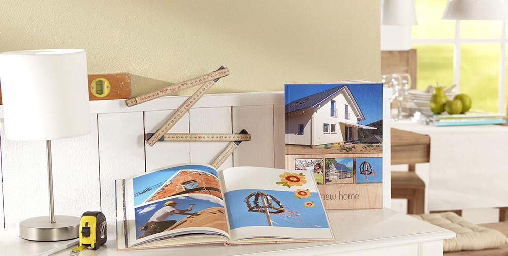 Renovación de su casa en un  Álbum digital Pixum