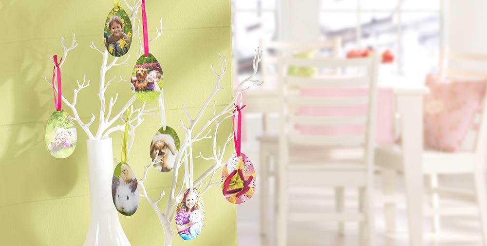 Tirages photo pour arbre de Pâques