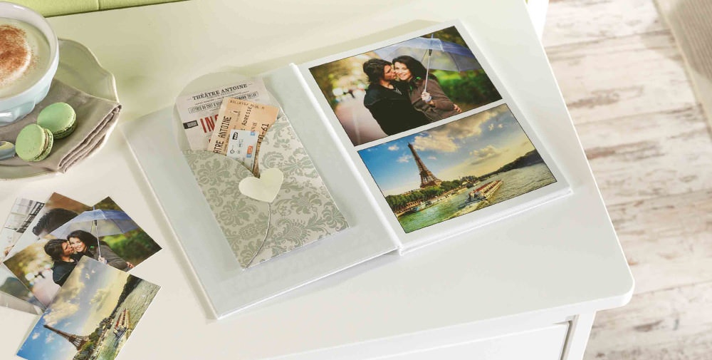 Pixum Photo Book with souvenirs