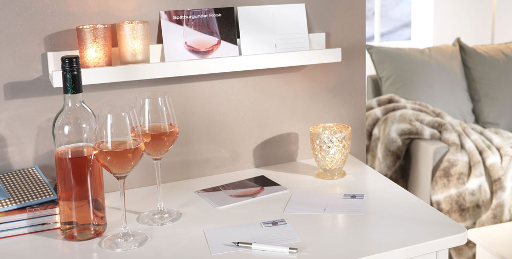 Postales para expertos en vino