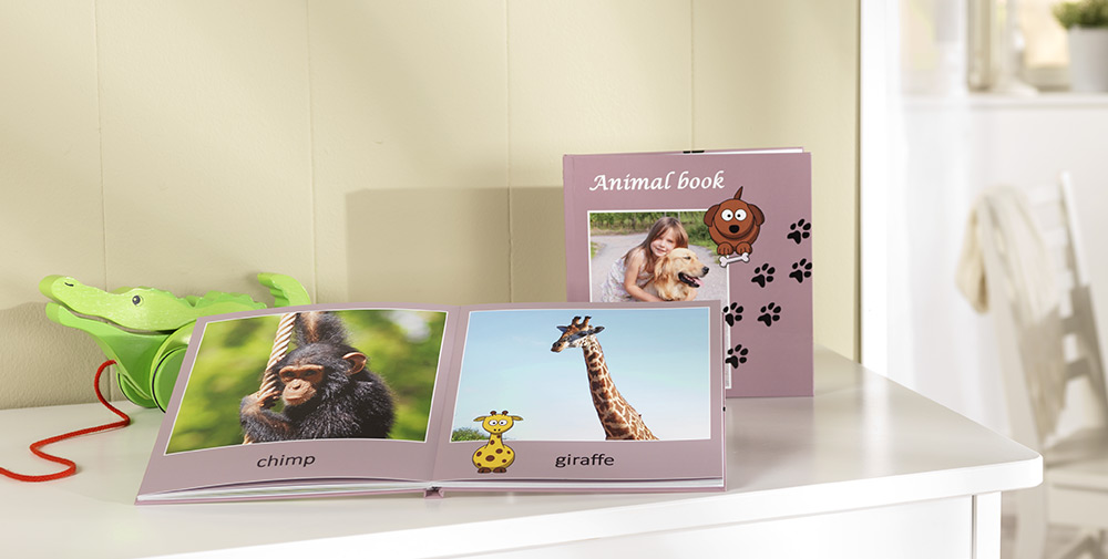Pixum Photo Book for identifying plants and animals