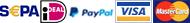 Betaal met een eenmalige machtiging, per overschrijving of met jouw credit card