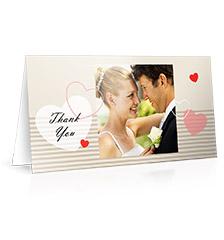 Design Folded Cards L (long fold) - set of 10 (single side print, premium paper matt)
