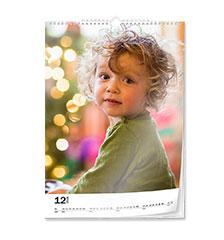 Wall calendar classic A4 (portrait)