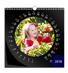 Design wall calendar classic square (photo paper)