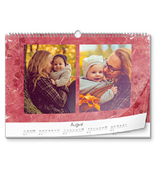 Design wall calendar classic A3 (landscape, photo paper)