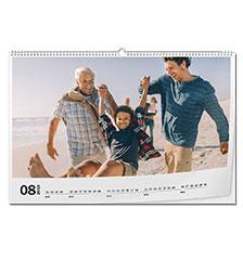 Calendario classic A2 (panoramico, carta fotografica lucida)