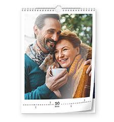 Calendario classic A3 (verticale, carta premium lucida)