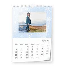 Design wall calendar classic A4 (portrait, glossy paper)