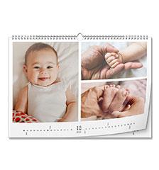 Kalender A3 (liggend, hoogglans)