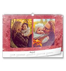 Design-kalender A3 (liggend, hoogglans)