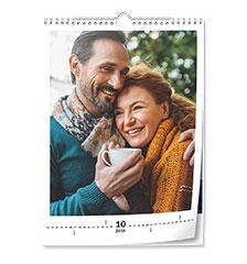 Wandkalender Classic A3 (hoch, Premiumpapier edelmatt)
