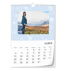 Design-Wandkalender Classic A4 (hoch, Premiumpapier edelmatt)