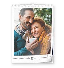 Calendario clásico A3 (vertical, papel fotográfico)