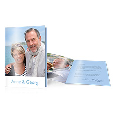 Folded Cards XL (long fold) - set of 10 (double-sided print)
