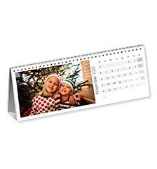 Free-standing Desk Calendar (Landscape, premium paper matt)