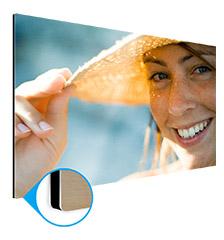 Foto en aluminio 100×150 cm (impresión directa)