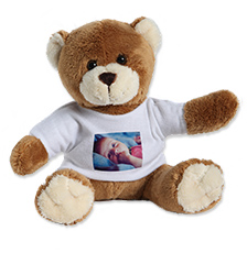 Peluche avec t-shirt photo (nounours)