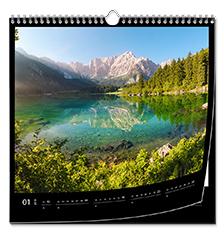 Calendario clásico cuadrado 30×30 cm (papel premium extra mate)