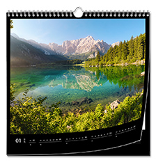 Wall Calendar Square 30×30 cm (premium paper extra matt)