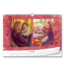 Design Wall Calendar Classic A3 (landscape, premium paper extra matt)