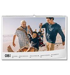 Calendario de pared clásico A2 (panorámico, papel premium extra mate)