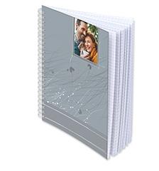 Cuaderno con espiral A5 diseño (cuadriculado)
