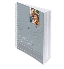 Photo notepad A5 (lined paper)