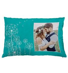 Cuscino premium con foto design (60×40 cm)