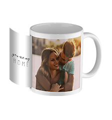 Design photo mug white inside (panoramic)