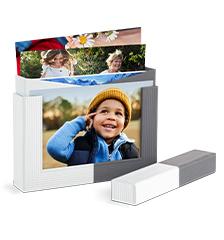 Pixum Fotobox inkl. 50 matten Fotos