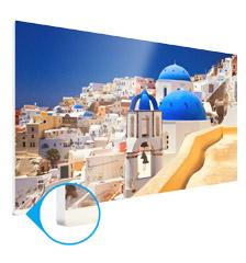 Foto op forex 50×150 cm (directe druk)