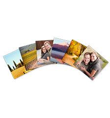 Fotostickers (6 stuks)