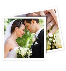 Foto-cartoline quadrate - Set da 10 (stampa su due lati, cartoncino satinato)