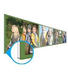 Forex photo panel - 80×20 cm (direct print)
