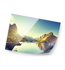 High-end fotoposter 30×45 cm (parelmoer)