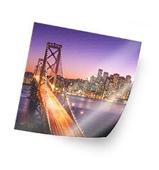 Fotoposter 20×20 cm (zijde textuur)