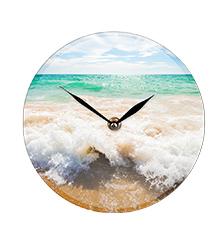 Foto reloj de vidrio (grande)