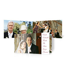 Folded Cards L (short fold) - set of 10 (double-sided print)