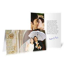 Folded Cards L (long fold) - set of 10 (double-sided print)