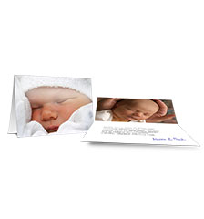 Folded Cards M (long fold) - set of 10 (double-sided print)