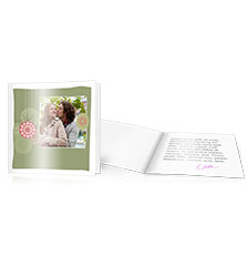 Design Folded Cards M (square) - set of 10 (single-sided print)