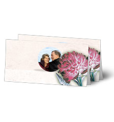 Design Folded Cards L (long fold) - set of 10 (single-sided print)