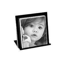 Kristall-Fotoaufsteller (inkl. Halterung)