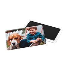 Photo fridge magnet
