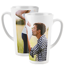 Photo coffee mug XL (panorama)
