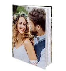 Quaderno con copertina rigida A4 (a quadretti)